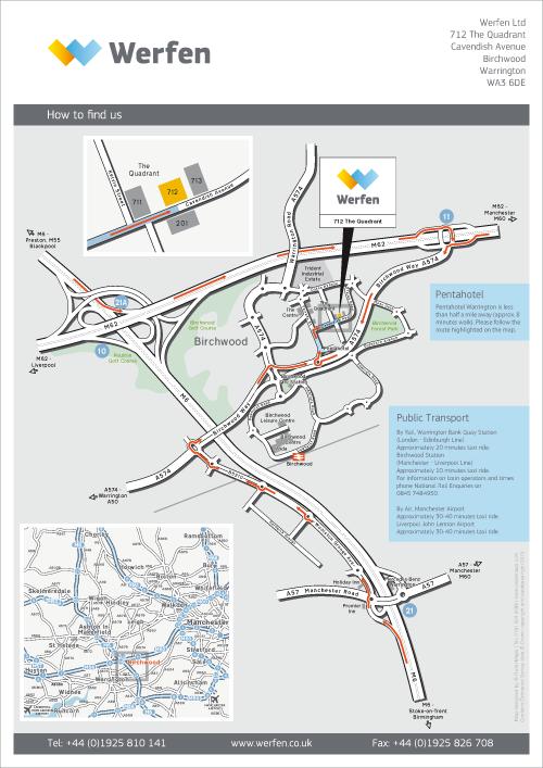 Werfen location map